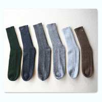 Free Shipping 100 Cashmere Rib Knit Socks Man Cashmere Socks