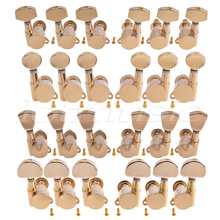 Electric Acoustic Guitar Tuning Pegs Keys Tuners Machine Heads 3×3 Gold 4 Set