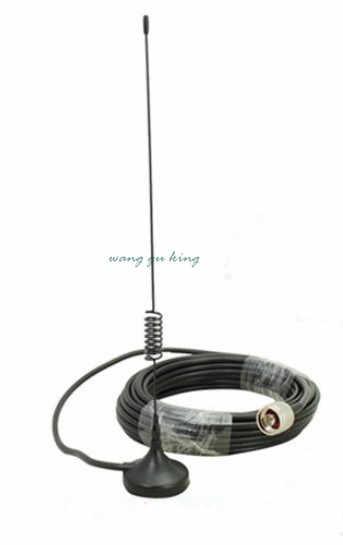 Lcd двухдиапазонный 3g W-CDMA 2100 MHz/GSM 900Mhz усилитель сигнала мобильного телефона ретранслятор сигнала сотового телефона + антенна + кабель