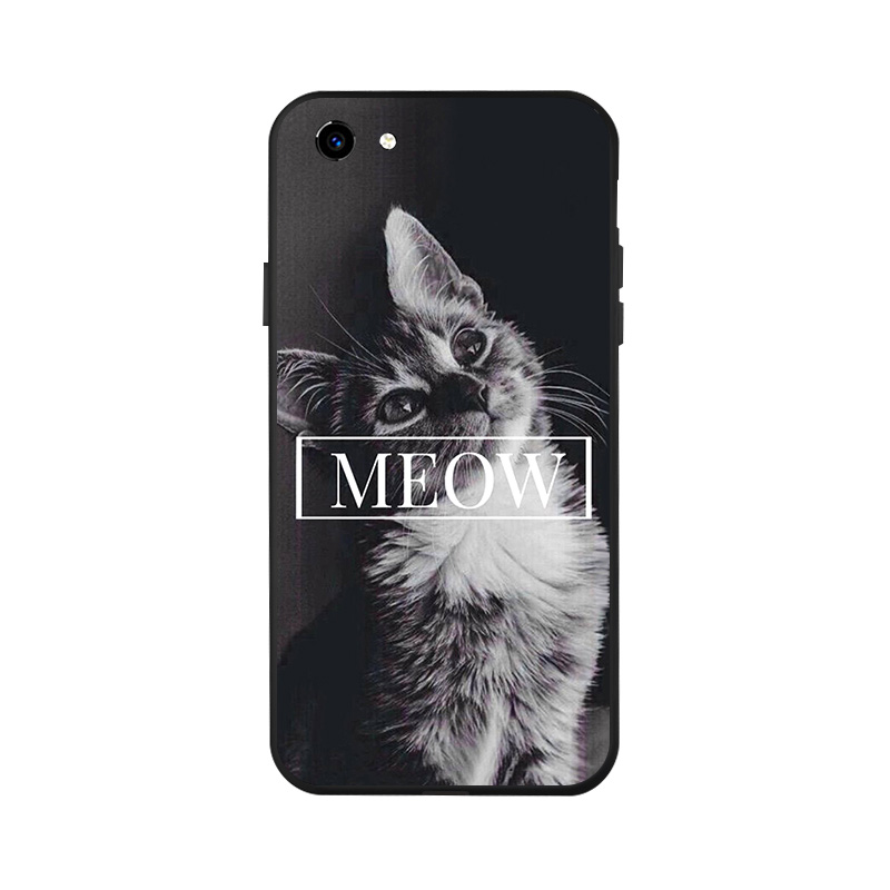 Ojeleye Fashion Black Silicon Case For Vivo Y81 Cases Anti knock Phone Cover For Vivo Y81i 6 22 inch Covers in Fitted Cases from Cellphones Telecommunications