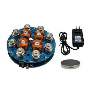 Image 5 - DIY Magnetic Levitation Machine Core DIY Kit Magnetic Levitation Module With LED Lamp weight 300g