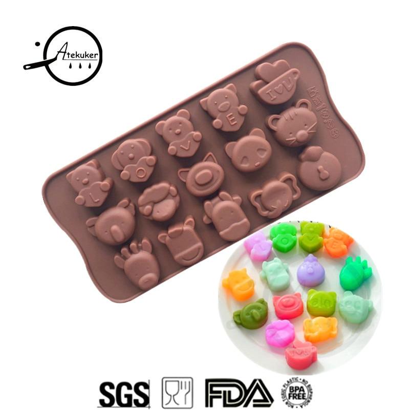 1pcs Fish shell shape silicone cake mold handmade soap chocolate ice mold