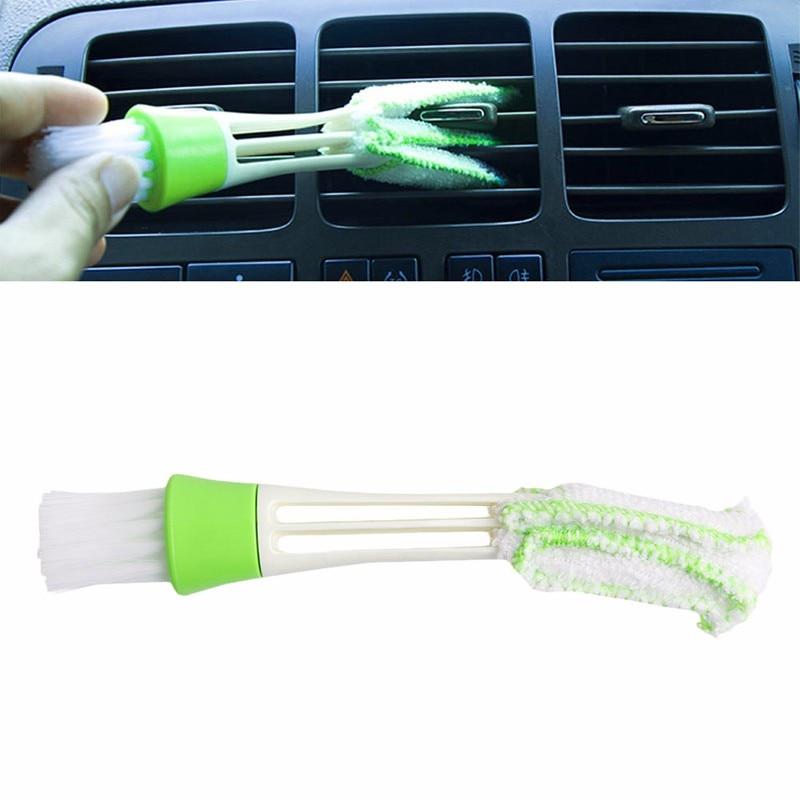 1 Pc Salida De Aire De Ventilación Polvo Limpieza Interna Cepillado Nuevo Limpiador Cepillo De Limpieza