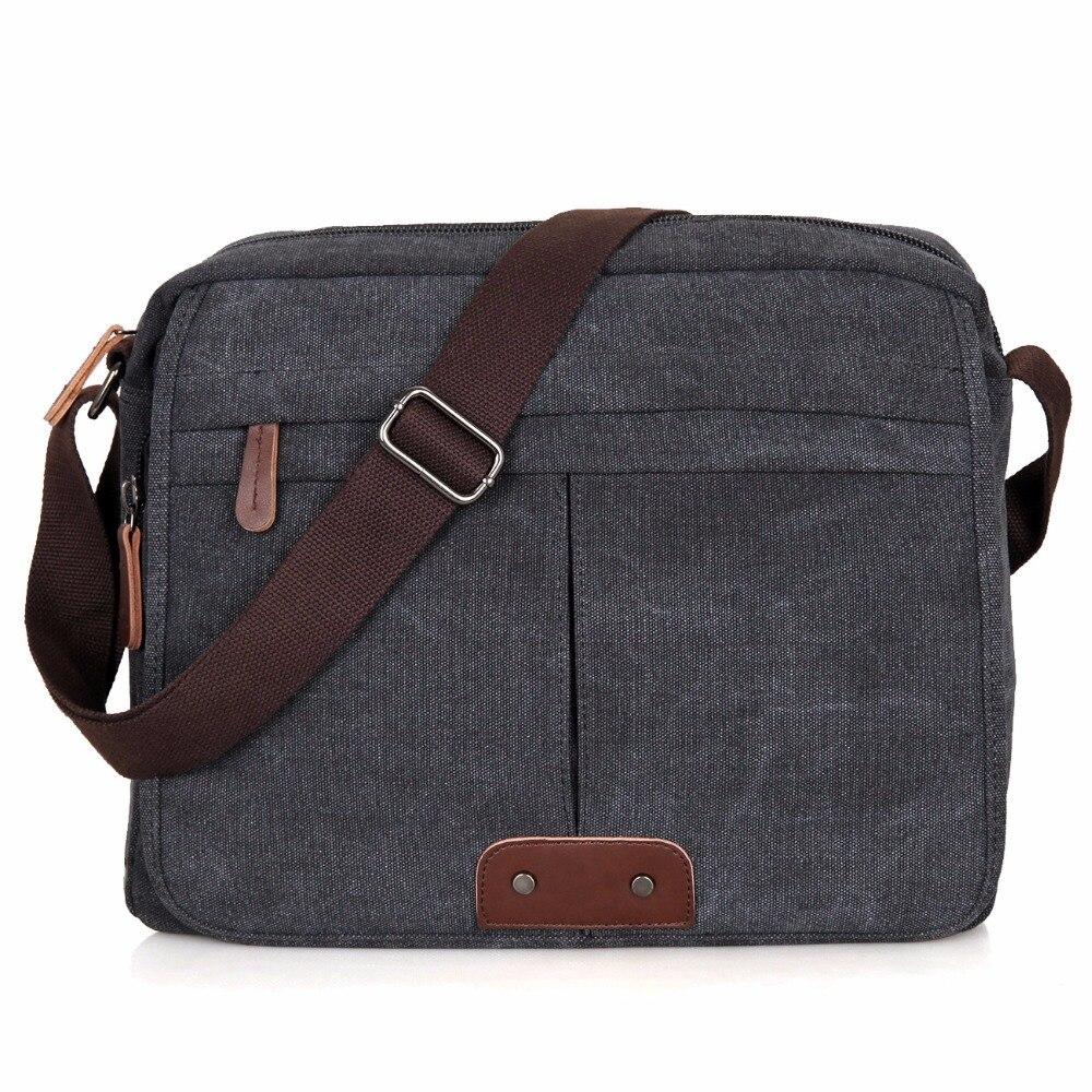 JMD Vintage Canvas Shoulder Bag Light Sling Bag For Men Messenger Bag 9039 casual canvas satchel men sling bag