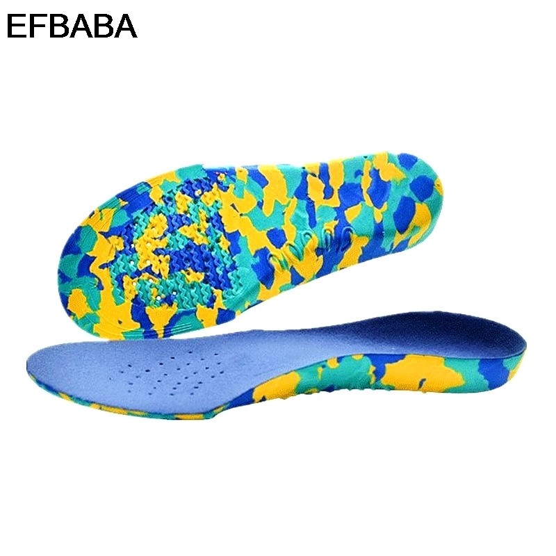EFBABA Orthopedic Insoles Flat Foot Arch Support X-legs Correction Children's Insole Shoe Accessories Eva Orthopedic Shoes Pad arch support insole for x legs child orthopedic shoes foot care 3d orthotic insoles flat feet for kids and children shoe insert