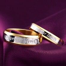 Любовное увядает никогда навсегда обручальные посеребренная обручальное письмо не человек золото