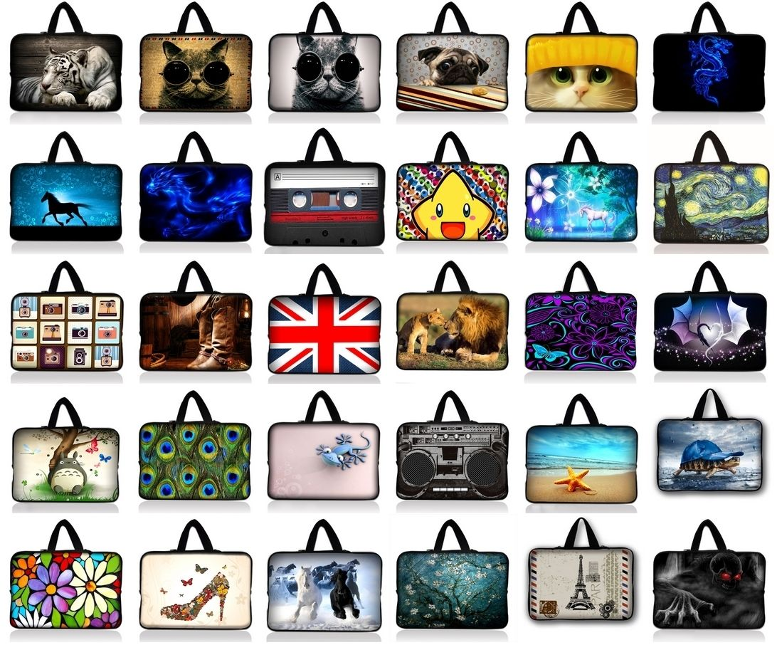7.9 9.7 10.1 11.6 13 13.3 14 14.4 15.4 15.6 17.3 17.4 laptop sleeve bag notebook case for Macbook Pro Air For Lenovo ASUS HP
