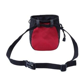 Chalk Bag Storage, Pouch For Rock Climbing, Adjustable Waist Belt50m 9