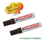 Билл маркера (трюк и онлайн инструкции)-фокус, закрыть, иллюзия, улица, ментализм, весело, Magia Игрушечные лошадки классический Magie