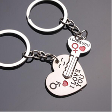 1 Pair Key to My Heart Keychain Wedding Favors And Gifts Souvenirs Supplies Fast Shipping A