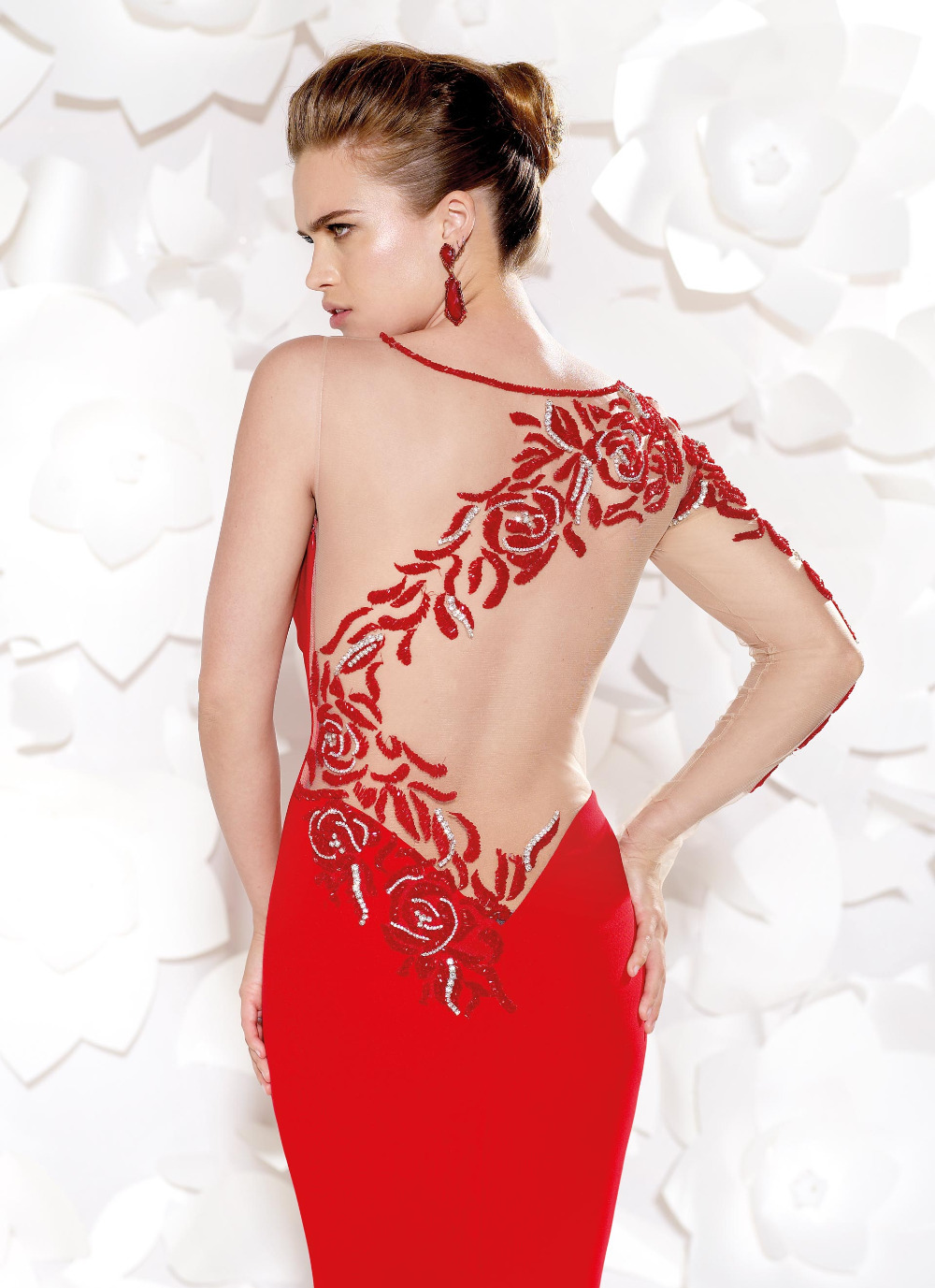 plus size red dresses for special occasions - gaussianblur
