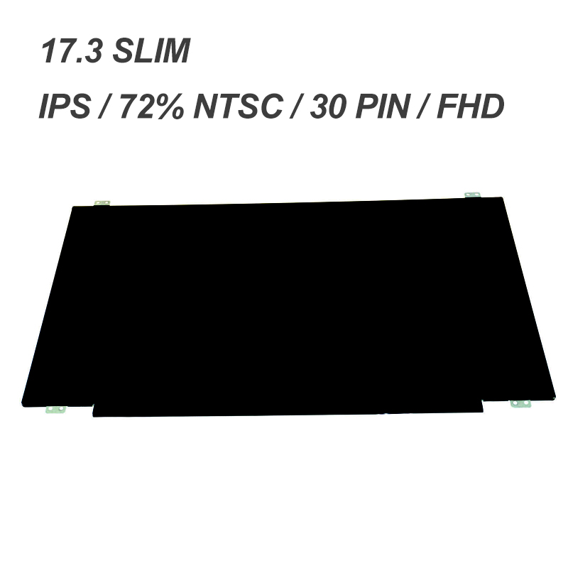 IPS FHD 1920*1080 30 PIN SLIM LP173WF4-SPF2/SPF2 LTN173HL01,N173HCE-E31,B173HAN01.0 FOR DELL 17R2/R3/R4/R5