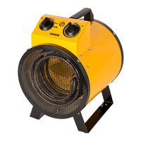 YUNLINLI Industrial Electric Fan Heater Warm Air Blower High Power Thermostat 220V Living Room Heater Dryer BJE K3