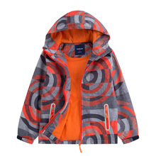 купить Waterproof Index 5000mm Windproof Baby Boys Jackets Children Outerwear Casual Warm Child Coat For 3-12 Years Old дешево