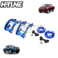 H TUNE 4x4 Accesorios 32mm Front Spacer and Rear Extended 2 inch G Shackles Lift Up Kits 4WD For New D max / Colorado 2012+