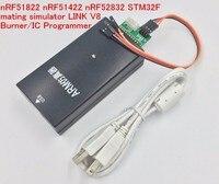 Free Ship Emulator/nRF51822 nRF51422 nRF52832 STM32F mating simulator for LINK V8 Burner/IC Programmer Bluetooth SOC Demo board