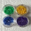 Бесплатная доставка 400 шт./компл. 4 размера Стоматологический Материал Одноразовые Пластиковые пломбы клин