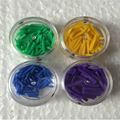 Envío gratis 400 unids/set 4 tamaños Material Dental Desechable dental de Plástico llenado cuña