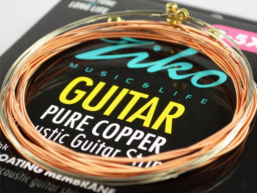 ZIKO DR-012 012-053 AKOESTISCHE gitaarsnaren PURE COPPER gitaar - Muziekinstrumenten - Foto 2
