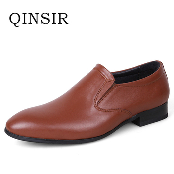 Mens Casual Leather Shoes Hot Sale Spring Autumn Men Fashion Slip-On genuine leather Shoes Man Low Top Light Flats Sapatos Hot