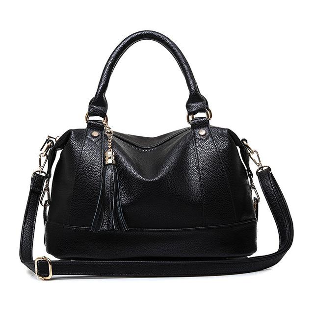 Casual mulheres saco 2016 europeus e americanos famoso designer bolsas , malas. Moda clássico tassel bolsa de ombro mulheres