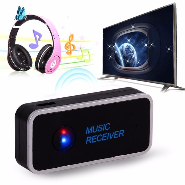 Mini Portátil Multi-función de Transmisor Inalámbrico Bluetooth estéreo de 3.5mm Adaptador Audio Estéreo