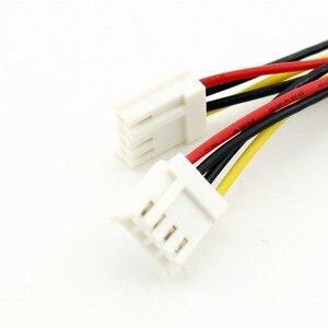 Image 3 - 1pc 4 Pin Molex naar Dual 4 Pin Floppy PC Power Y Splitter Adapter Connector Kabel voor Floppy Drive FDD 20cm