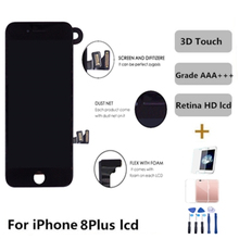 Grade AAA LCD For iphone 8 Plus Display 3D Touch Screen Digitizer Replacement Full Assembly For iPhone 8P Lcd Ecran Pantalla 10pcs lot grade highscreen aaa for iphone 6 plus lcd display digitizer assembly pantalla iphone6 plus replacement free dhl