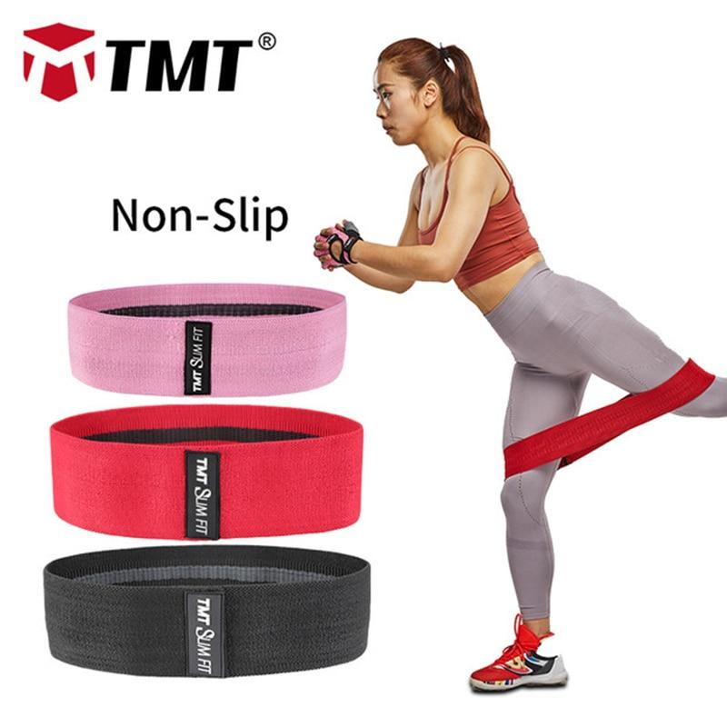 Non Slip Workout Bands: TMT Resistance Bands Non Slip Exercise Bands Hip Fitness