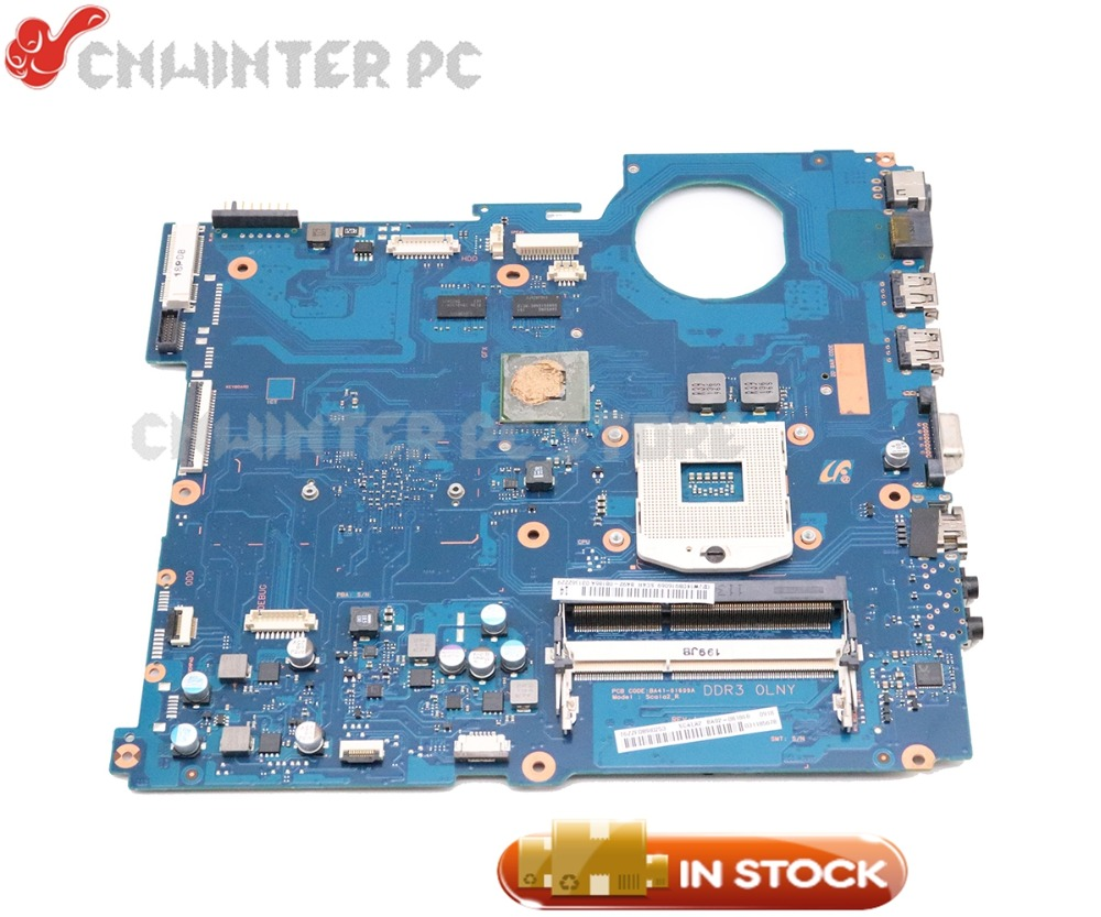 NOKOTION BA92-08186A BA92-08186A BA41-01608A For Samsung RV520 Laptop Motherboard HM65 DDR3 GT520M Video card 1GB цена 2017