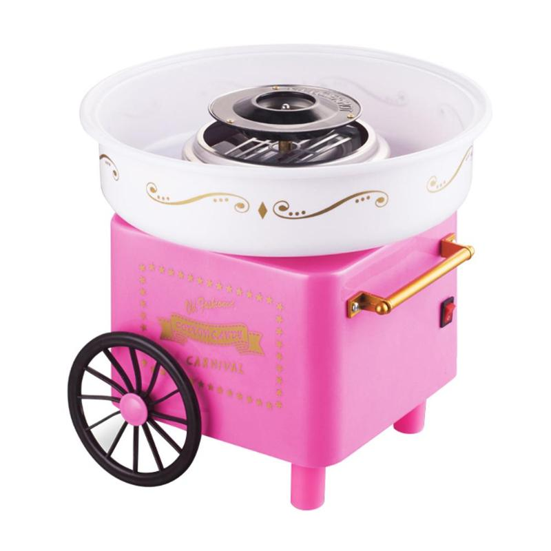 Electric Candy Maker Mini Household DIY Sugar Machine For Cotton Candy Sweet Floss Food Processors Machine Kids Gift mini portable household mini cotton candy maker machine gift floss sweet sugar maker birthday valentine s gift
