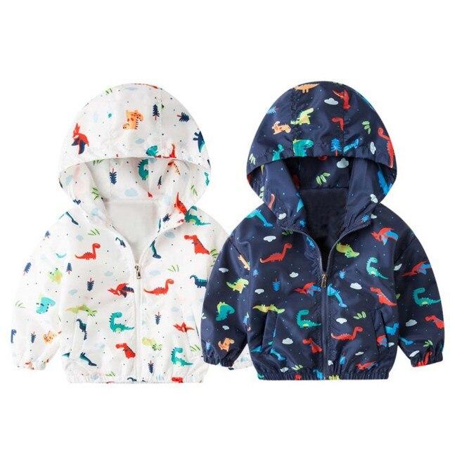 9f3974763 2018 Spring Cute Dinosaur Children Coat Autumn Kids Jacket Boys ...