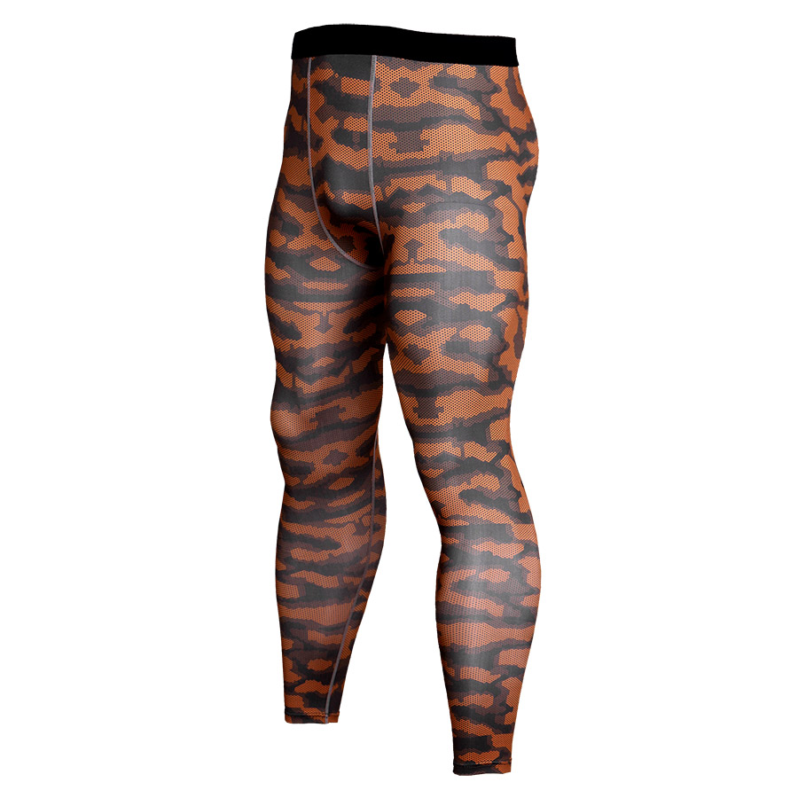 New Camouflage Compression Pants Men Fitness Tights Cossfit Mens Joggers Bodybuilding Leggings High Elasticity Skinny Leggings