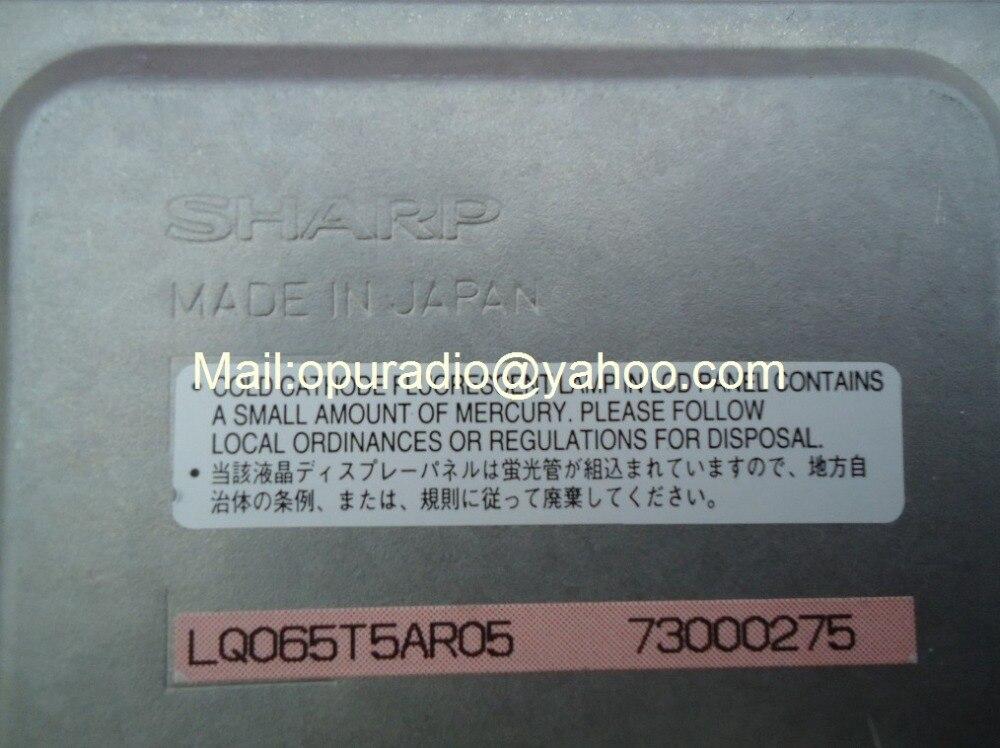 """Абсолютно шапп 6,"""" экран ЖК-дисплей дисплейный модуль LQ065T5AR05 для SUBARU Mazda Mercedes E280 300 автомобильный BMW DVD радиосистемы"""