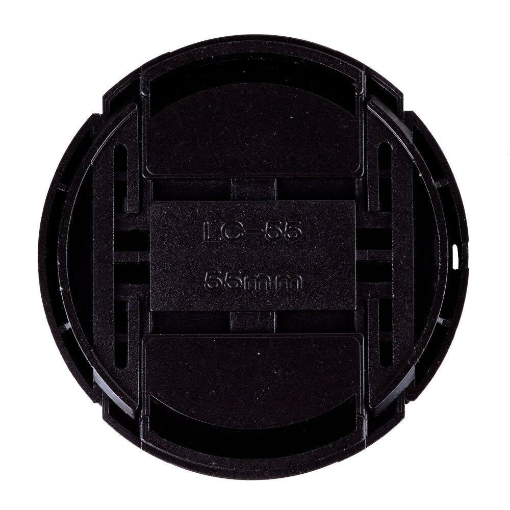 Nouveauté 100 pièces 55mm couvercle de capuchon d'objectif avant encliquetable pour lentille Sigma de caméra livraison gratuite