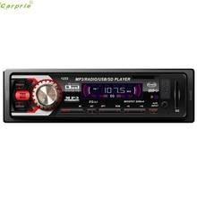 Cls Car Audio Estéreo Receptor FM Dash Con AUX Reproductor de Mp3 USB SD Entrada de Agosto 10