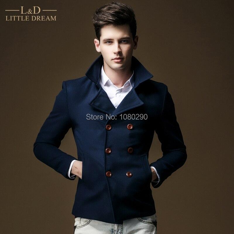 Online Shop 2015 New High Quality Short Design Men Casual Jacket ...