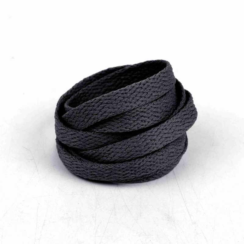 E-LOV Atacado Negro Cor Mulheres Homens Cordas Planas Cadarços Coloridos Ampla Sapato Atacadores Terno Para Adultos Jovens Sapatas de Lona Ocasionais
