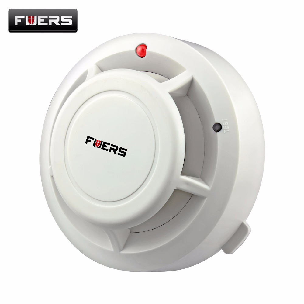 433MHZ Wireless Smoke Sensor Detector Burglar Alarm System for Home Security Alarm system цена и фото