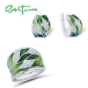 SANTUZZA 925 Silver Jewelry Se