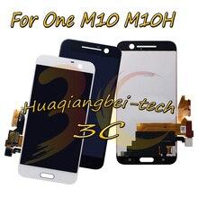 5.2 جديد ل HTC 10 واحد M10 M10H كامل شاشة الكريستال السائل + مجموعة المحولات الرقمية لشاشة تعمل بلمس أسود/أبيض 100% اختبار + تتبع