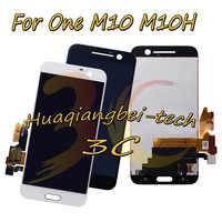5,2 ''Neue Für HTC 10 Eine M10 M10H Volle LCD DIsplay + Touch Screen Digitizer Montage Schwarz/Weiß 100% getestet + Tracking