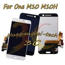 5.2 nowy dla HTC 10 One M10 M10H ekran lcd + montaż digitizera ekranu dotykowego czarny/biały 100% testowane + śledzenie