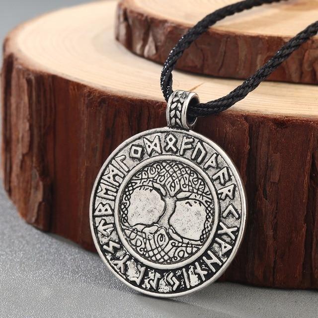 Chengxun Talisman Male Viking Protection Necklace Norse Odins