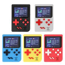 Jogador de jogos handheld 8bit vídeo game console jogador de jogo embutido 129 jogos