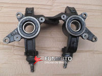 left and right Steering knuckle and claw of JIANSHE400CC ATV