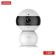LENOVO IP Camera WiFi Wireless Mini HD 720P Security Camera Snowman Family Monitor & IR-CUT Surveillance Camera Motion Detection