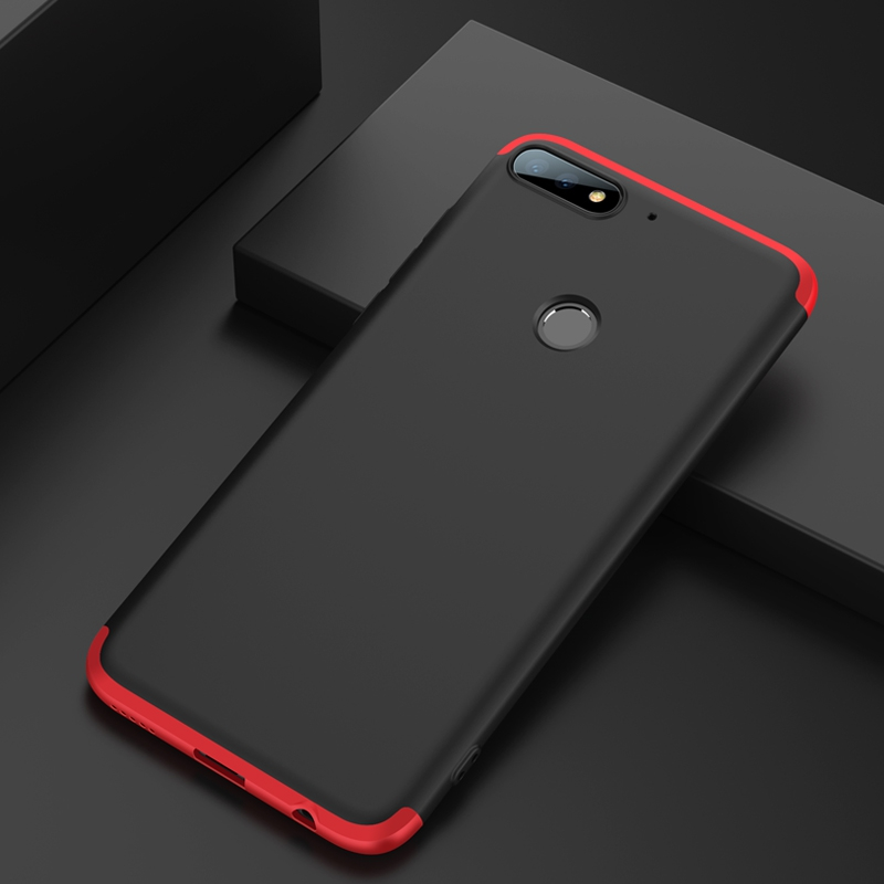 half off ccfad 749cc US $3.62 14% OFF|GKK For Huawei Y7 Prime 2018 Case 360 Full Body Protection  Anti knock 3 in 1 Hard Hybrid PC Cell Phone Shell-in Fitted Cases from ...