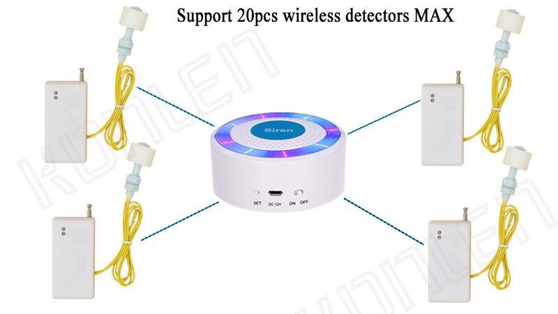 wireless water level alarm system