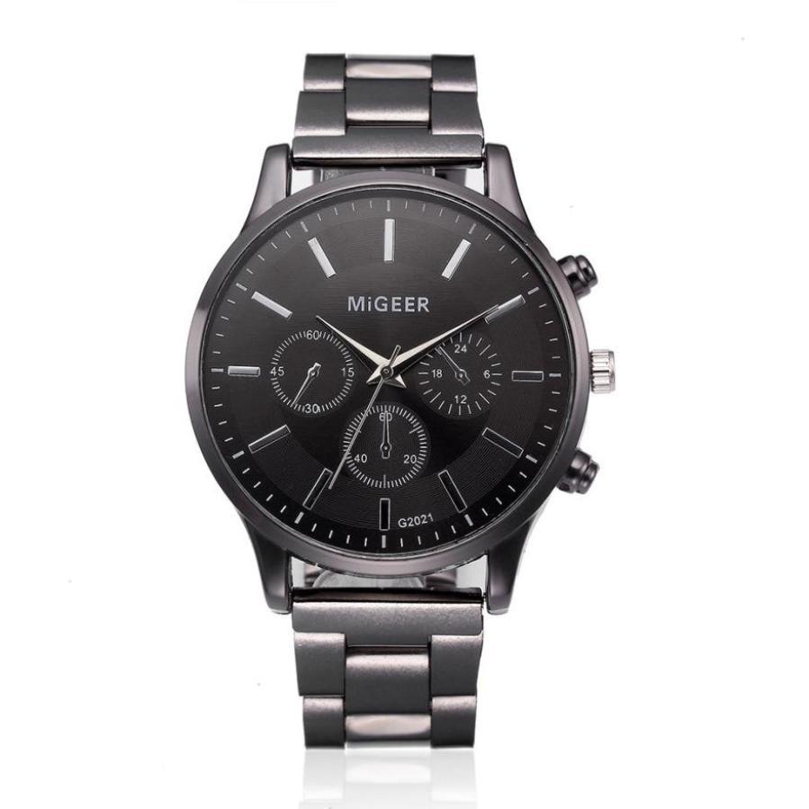 2018 NEW Gentleman Business Watch Fashion Men Crystal Stainless Steel Analog Quartz Wrist Watch Bracelet Male Cloc все цены